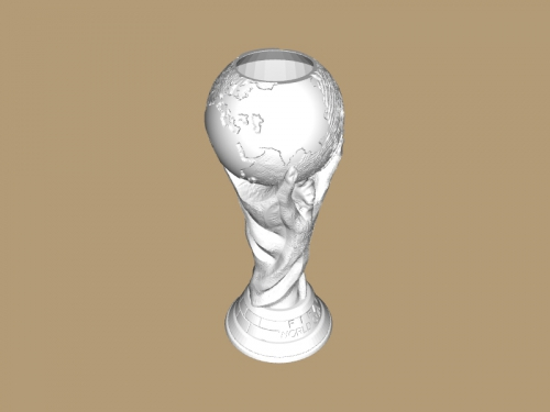 FIFA worldcup with hole free 3d model - download stl file